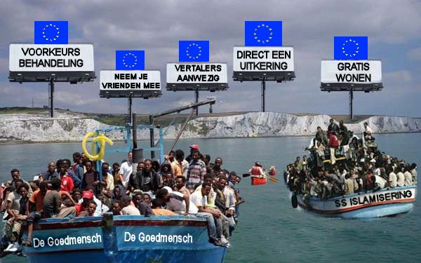 migranten invasie