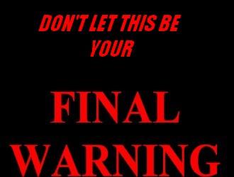 final.warning