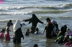 zwemmen.burka