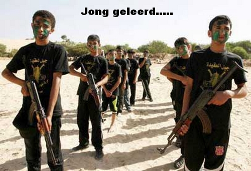 Palestinian Using child soldiers is a war crime