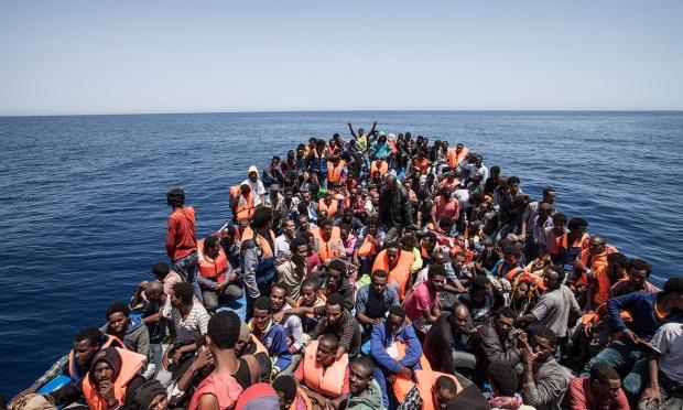 immigrantenstroom
