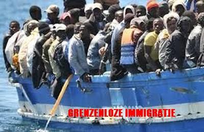 grenzenloze immigratie